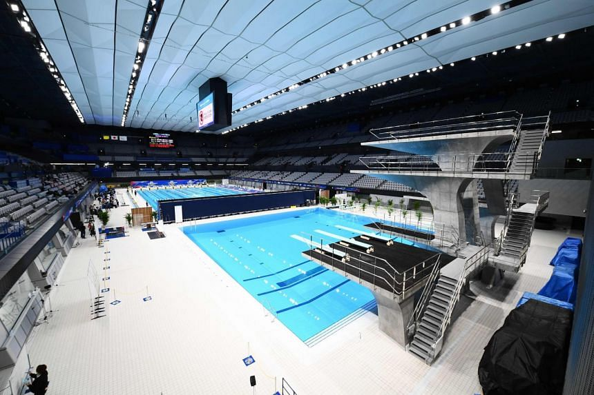 Diving and artistic swimming qualifiers for the 2020 Tokyo Olympics will go ahead in Japan.