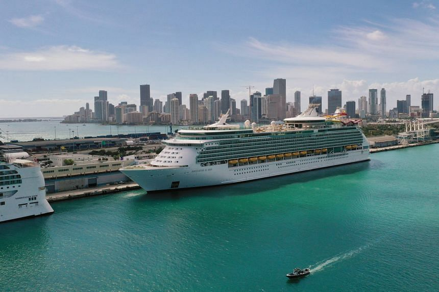 The US Centres for Disease Control and Prevention ordered cruise companies to halt operations in the country in March 2020.