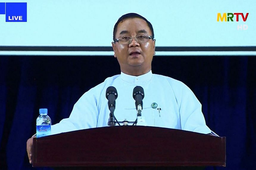Myanmar military spokesman Zaw Min Tun said the junta will hold elections within two years and hand over power to the elected government.