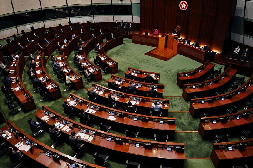 The proposals were being discussed for the first time by a committee of Hong Kong's Legislative Council.