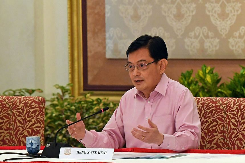 Deputy Prime Minister Heng Swee Keat announced his decision to step aside as Singapore's potential prime minister on April 8, 2021.