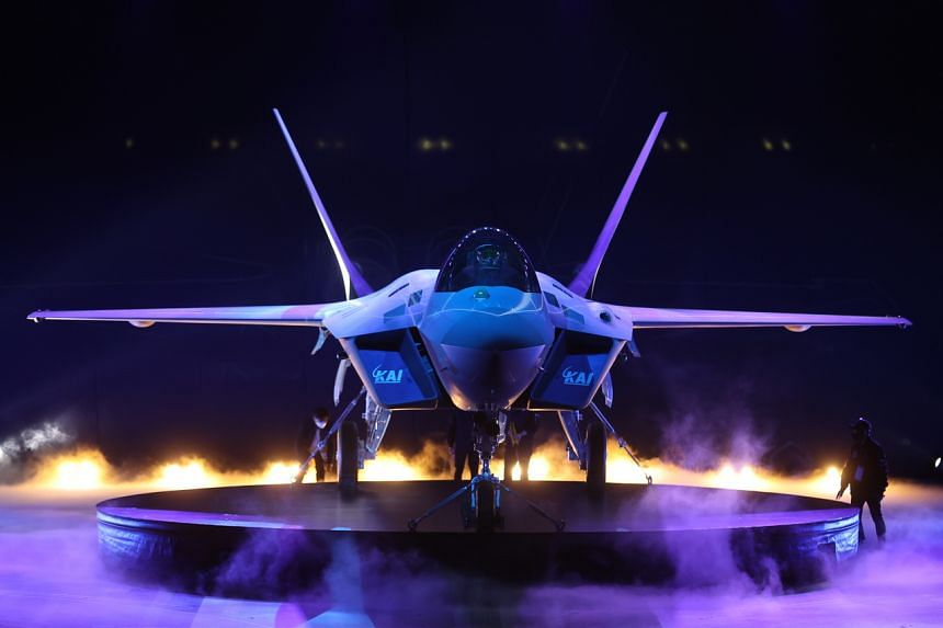 South Korea's first prototype of the next-generation KF-X fighter.