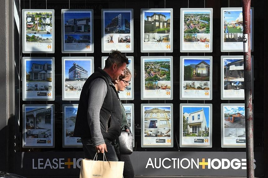 Houses listed for sale or auction in Melbourne. A spike in prices has prompted more calls for the federal government to follow New Zealand's cooling measures which include mandating investors to hold a property for 10 years, instead of five, if they