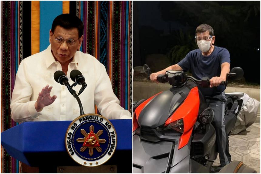 "Philippine Senator Christopher Go posted photos of President Rodrigo Duterte that show ""proof of life""."