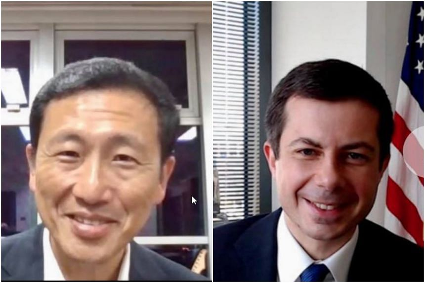 Transport Minister Ong Ye Kung, who met his US counterpart Pete Buttigieg in an introductory virtual meeting on Thursday, said they also agreed to strengthen collaboration on climate action and sustainability.
