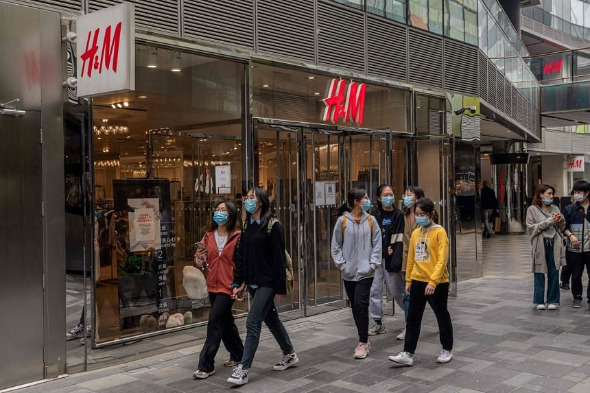 The latest boycott comes after H&M statement's about not using Xinjiang cotton over forced labour concerns there.