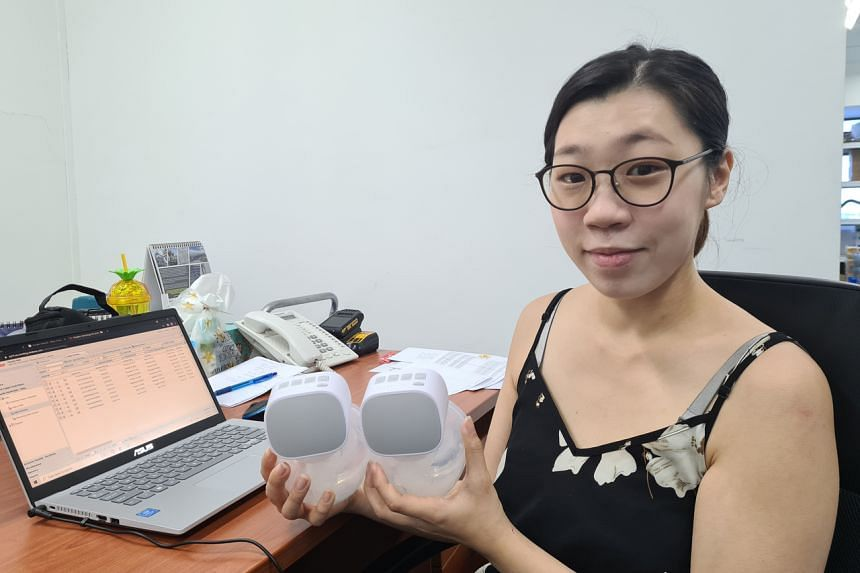 Ms Pamela Wah ordered a portable breast pump when she heard that she could return to the workplace.