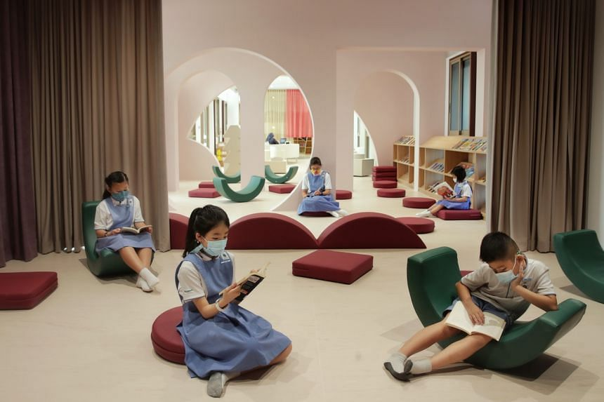 The new library at the Canossian Circle of Care.