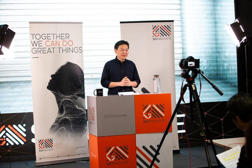 Education Minister Lawrence Wong said deep tech such as genetic coding is at the forefront of new innovations.