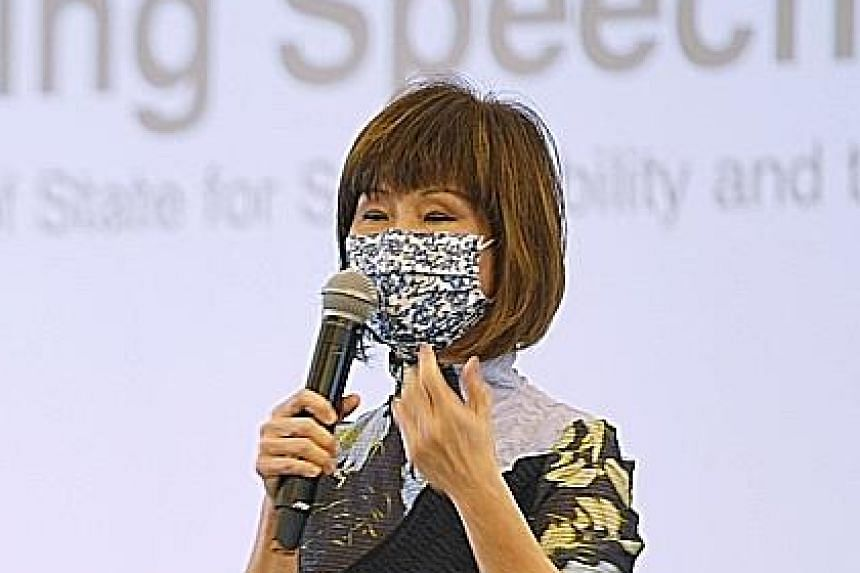 Senior Minister Of State For Sustainability and The Environment Amy Khor.