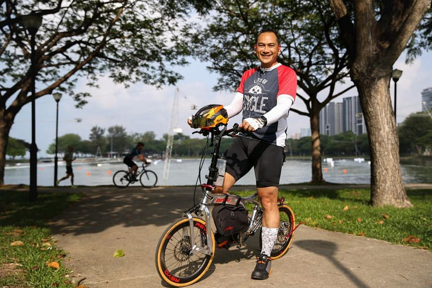 Mr  Mehar Mukesh Muni will be participating in this year's OCBC Cycle 100km Virtual Ride.