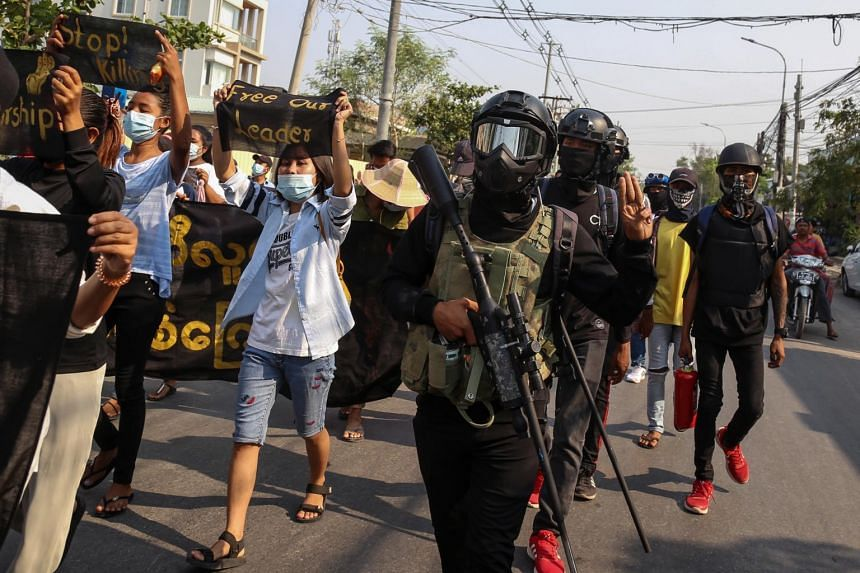 Despite the bloodshed, protesters continued to rally in parts of the country.