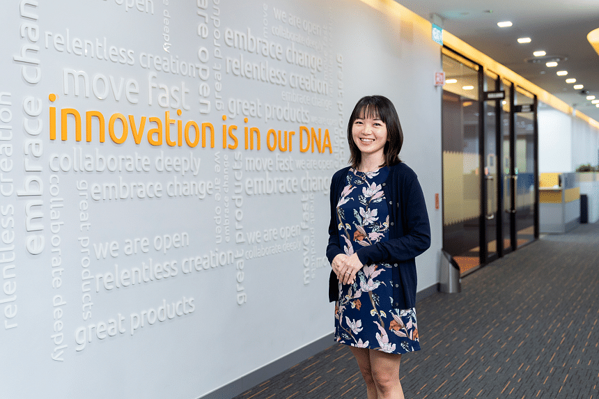 Ms Ang Qiu Ping, an engineering supervisor who benefited from Illumina's Culture of Care program when her personal situation was challenged during Covid-19 period.PHOTO: ILLUMINA SINGAPORE