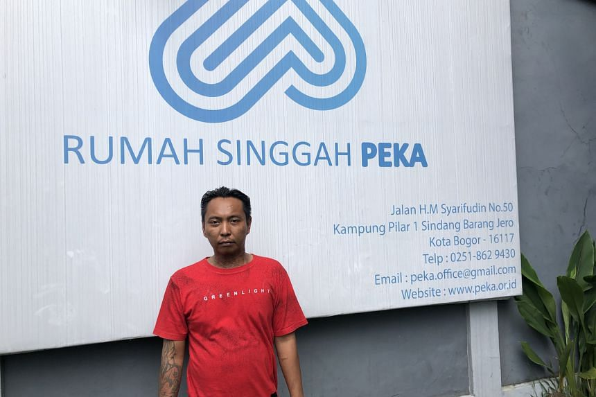 Mr Kuswanto showed up at the Rumah Singga drug rehabilitation centre in Bogor with about $14 to his name a month ago after years of meth use.