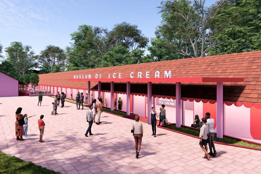 Visitors to the Museum of Ice Cream here will be guided through 14 multi-sensory installations spread over 60,000 sq ft of space.