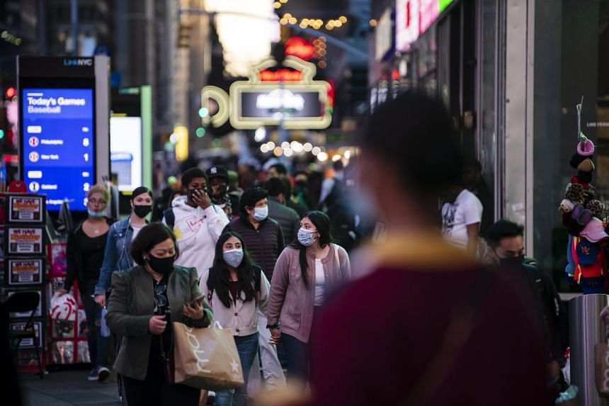In New York, the Times Square Alliance counted about 150,000 pedestrians a day over the holiday weekend.