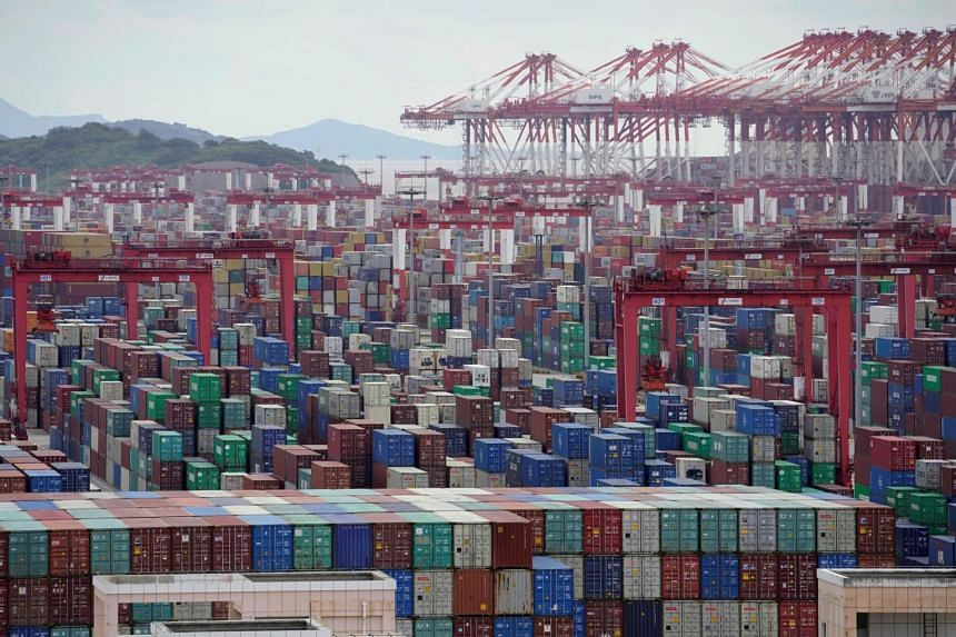 China's exports in dollar terms soared 30.6 per cent in March from a year earlier.
