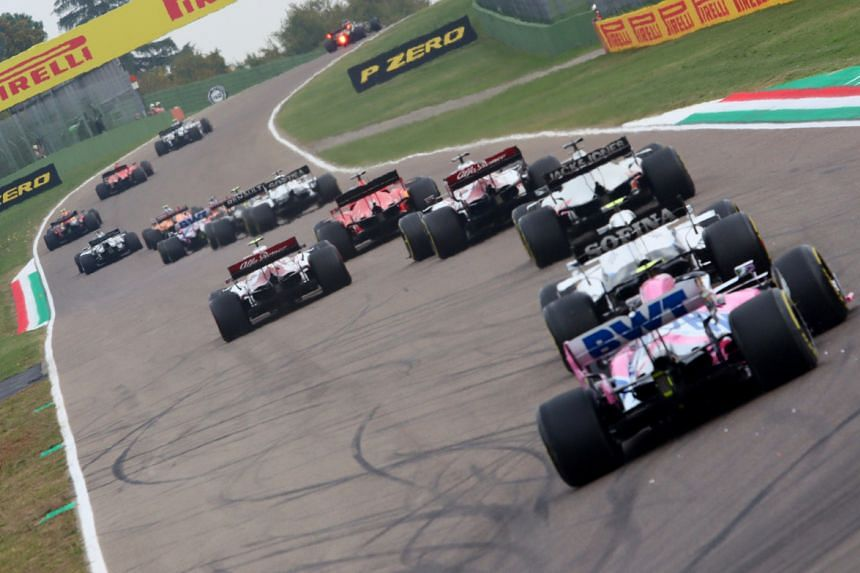Formula One said it will also hold a minute's silence.