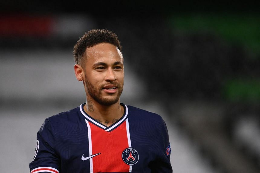 """PSG forward Neymar, whose contract is due to expire in June next year, called the Parisian club his """"home""""."""