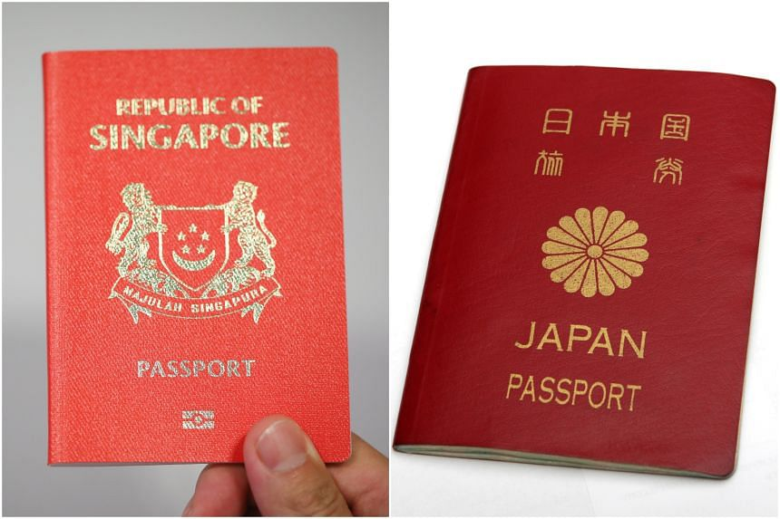 Singapore remains in second place with access to 192 destinations, behind Japan's 193.