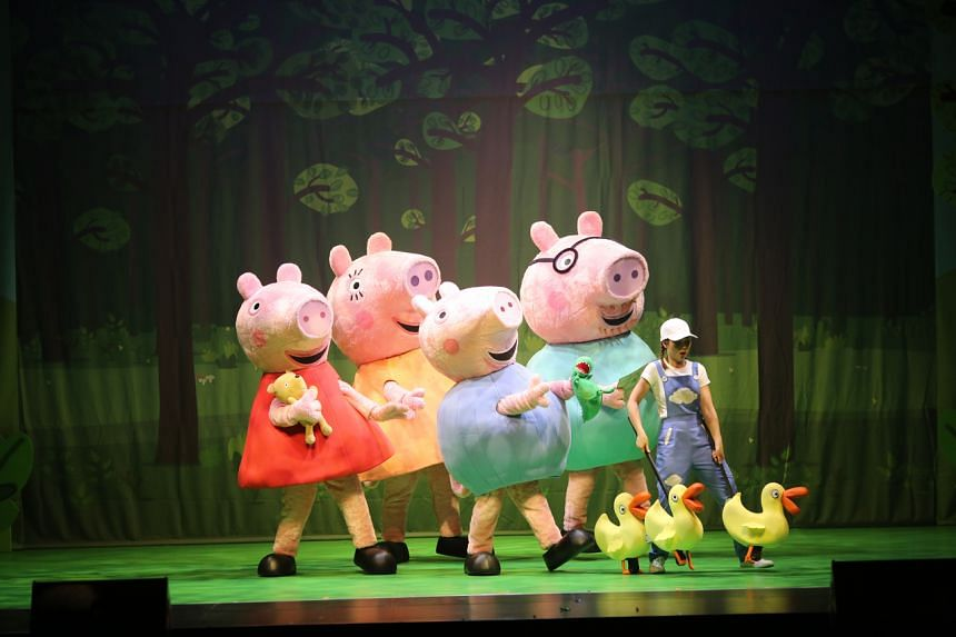The musical, which runs from June 2 to 10, is targeted at children aged two to six.