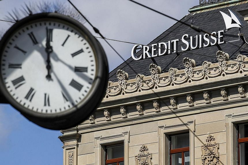 The Credit Suisse Group headquarters in Zurich. Nomura Holdings and Credit Suisse Group, the two lenders hit hardest in the Archegos debacle, have started to curb financing in the business with hedge funds and family offices. PHOTO: BLOOMBERG