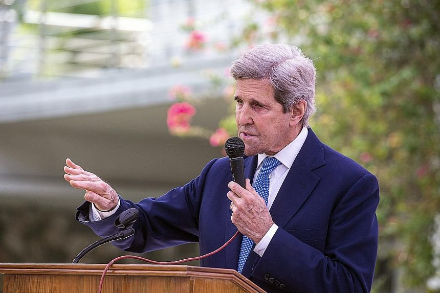 US climate envoy John Kerry's four-day trip to China is the first visit to the country by a Biden administration official. The US is hoping to find areas of common ground on the environment despite the high political tensions between both countries.