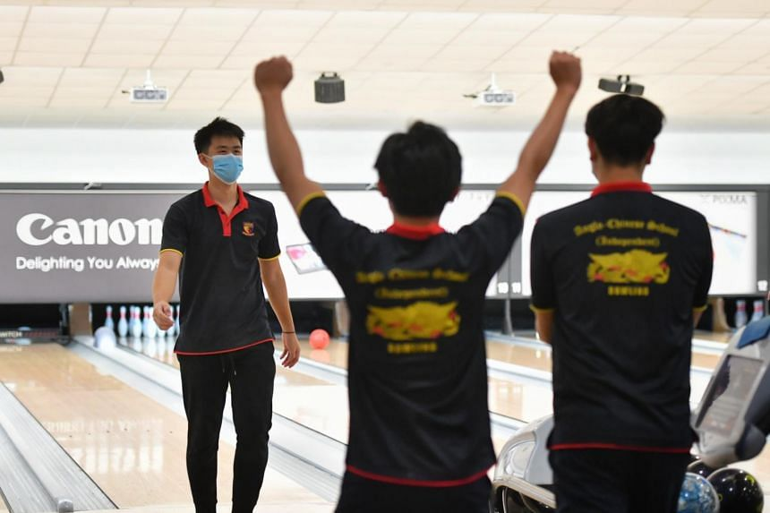 ACS(I) left the Singapore Bowling @ Rifle Range lanes with the quartet title and the team championship.