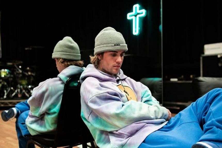Justin Bieber also said his Christian faith helped him with his struggles, including health issues related to chronic Lyme disease.