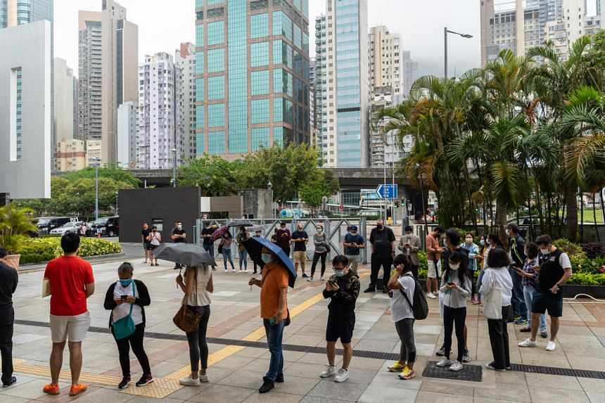 Hong Kong has been expanding vaccine access rapidly since its roll-out started in late February.
