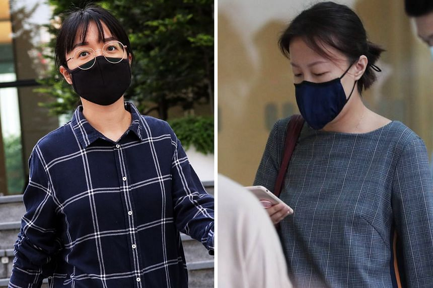 Zhao Zheng (top) had 24 charges under the Official Secrets Act (OSA) brought against her. Her friend Tang Lin (above) was charged with 10 counts of wrongful communication under the OSA.