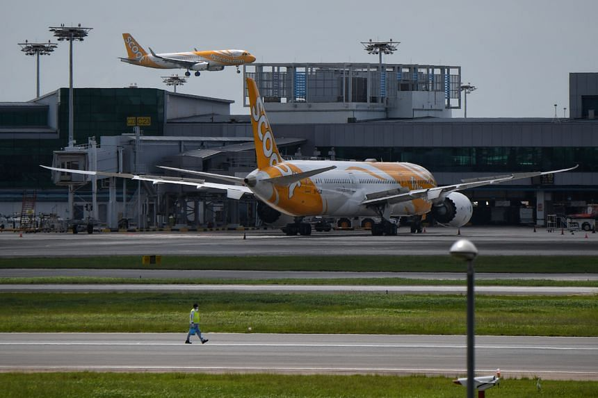 Scoot's passenger service from Hong Kong to Singapore will not be affected.