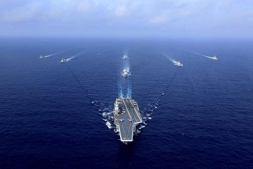 Raising the stakes, China's Navy said for the first time last week that carrier drills near Taiwan would become routine.