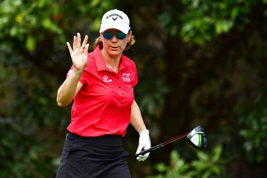 Annika Sorenstam retired in 2008 but returned to action earlier this year at the Gainbridge LPGA event.