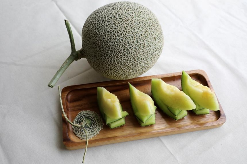 Since the last century, farmers in Japan have been perfecting the art of cultivating muskmelons.