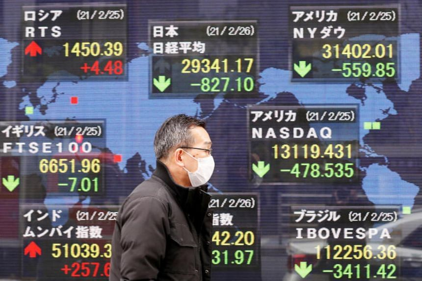In Asia, markets were largely steady after China reported a sharp acceleration in first quarter growth.