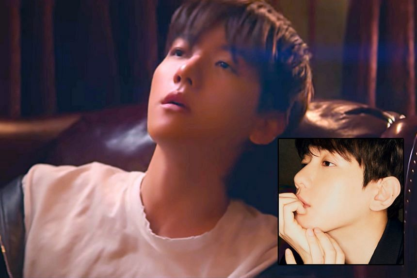 South Korean singer-songwriter Baekhyun (above) will be enlisting in the military next month. His stellar third mini album Bambi (inset), released on March 30, has the potential to propel his career to greater heights.
