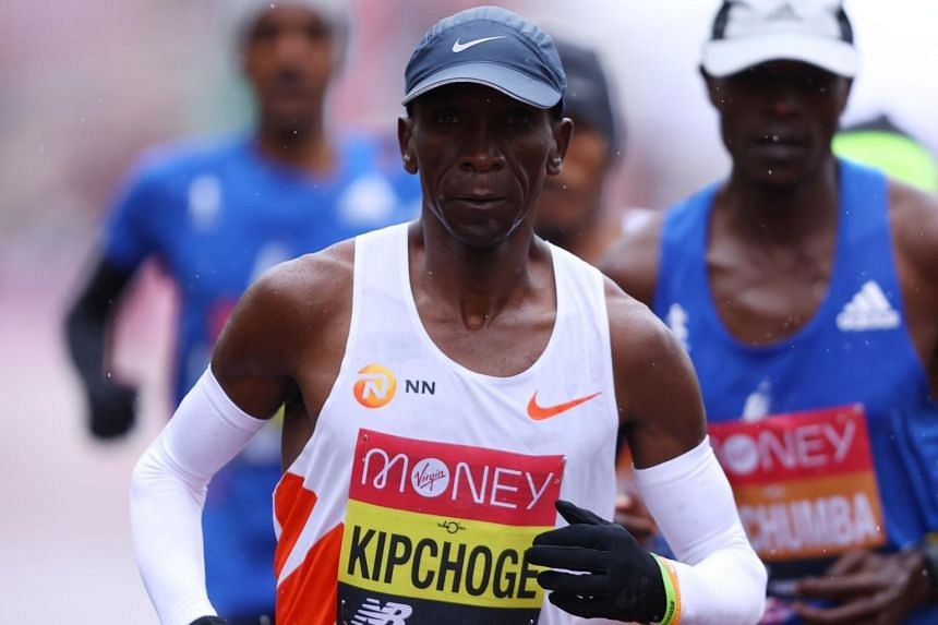 Eliud Kipchoge is the first man to run a marathon under two hours.