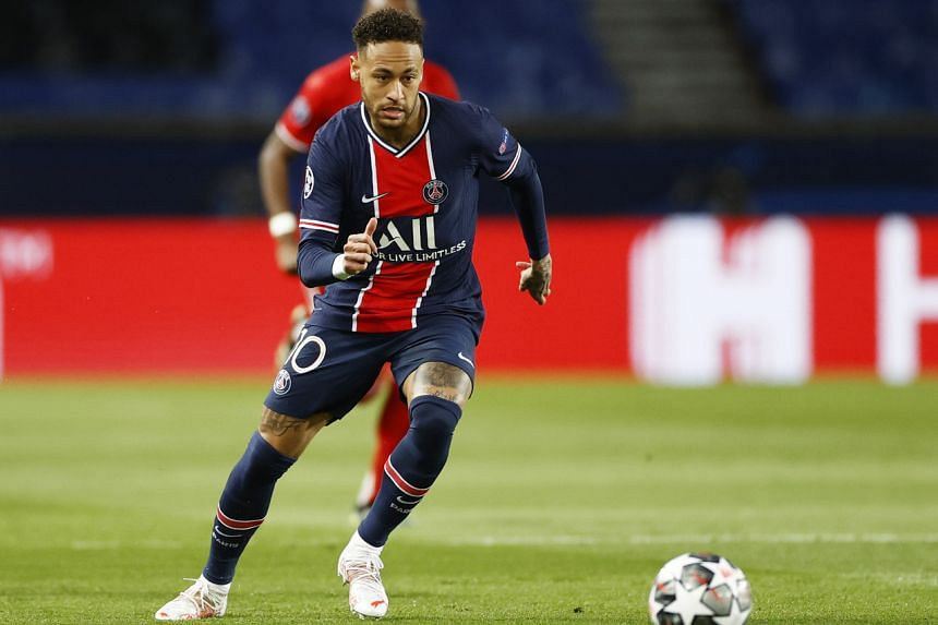 Neymar's current contract runs out at the end of next season, at the same time as Kylian Mbappe's deal.