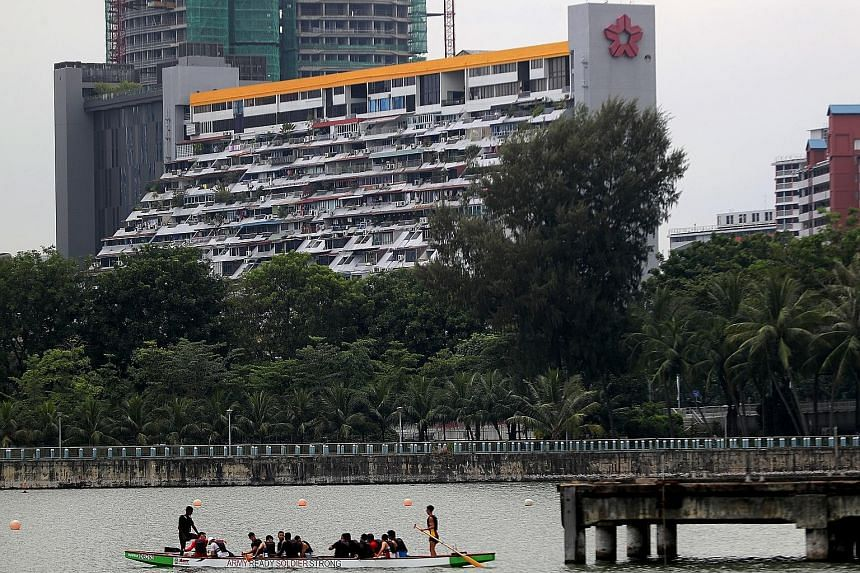 Golden Mile Complex, which was completed in 1973, is under consideration to be conserved. Rehabilitating buildings could allow them to retain elements of heritage, identity and a sense of community, said a spokesman for the Urban Redevelopment Author