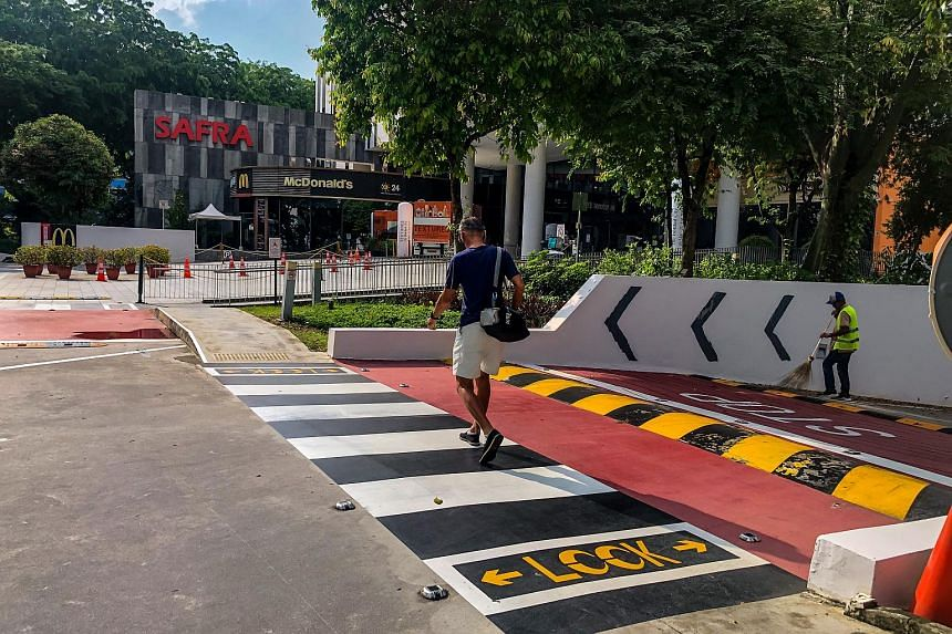 The accident reportedly happened at a zebra crossing outside Toa Payoh Safra at around 2.30pm on April 15, 2021.