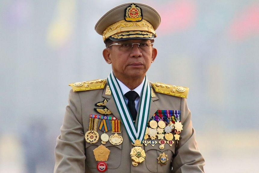 A national unity government in Myanmar said General Min Aung Hlaing should not be allowed to take part in the summit.