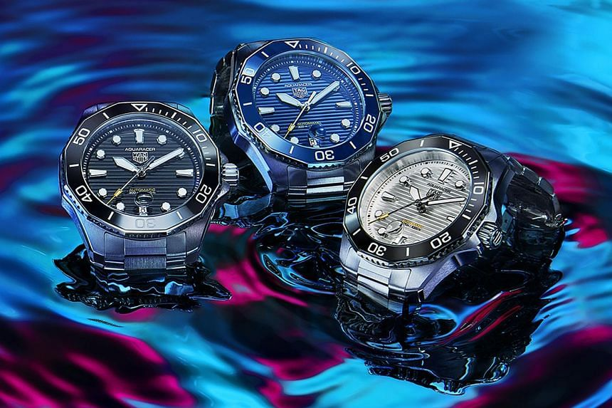 The Aquaracer is TAG Heuer's famous dive watch and a mainstay of its collection since the early 2000s.