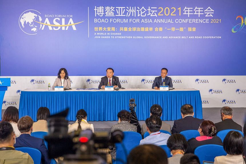 China kicked off the 20th edition of its high-level Boao Forum on the southern island of Hainan on April 18, 2021.