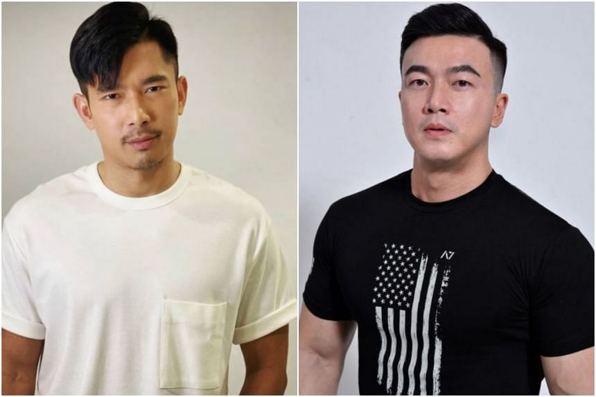 Elvin Ng (left) alleged that he was bullied on set by Patrick Lee.