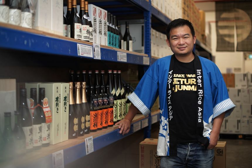 Mr Adrian Goh, director of sake distributor Inter Rice Asia, says the greater interest in sake is driven by the rise in popularity of craft alcohol.
