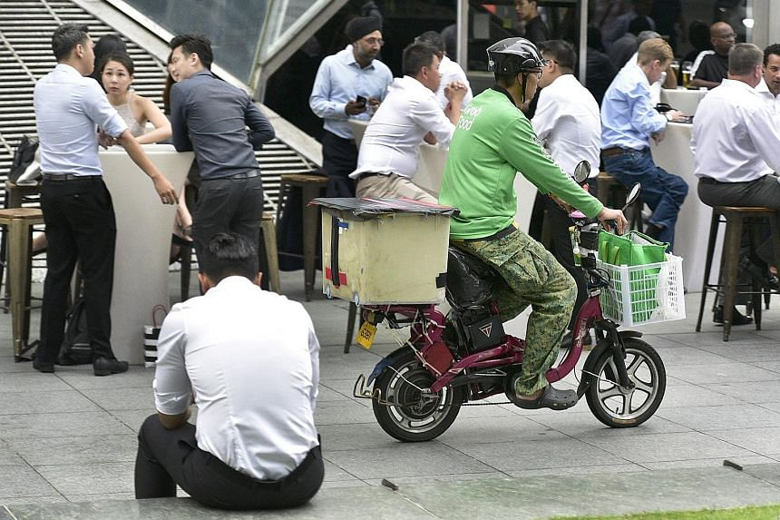 Labour MP Yeo Wan Ling has highlighted gig workers' need for longer-term income stability and retirement adequacy. Some large gig platforms voluntarily provide a certain degree of protection to gig workers. Grab offers drivers and delivery partners u