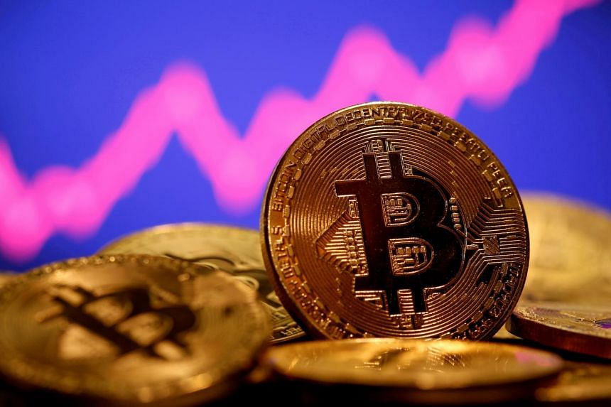 Bitcoin is valued at more than US$1 trillion after a more than 800 per cent surge in the past year.