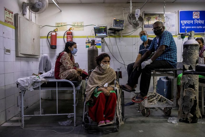 India's hospitals are struggling with a shortage of beds and oxygen supplies as infections pass the 15 million mark.