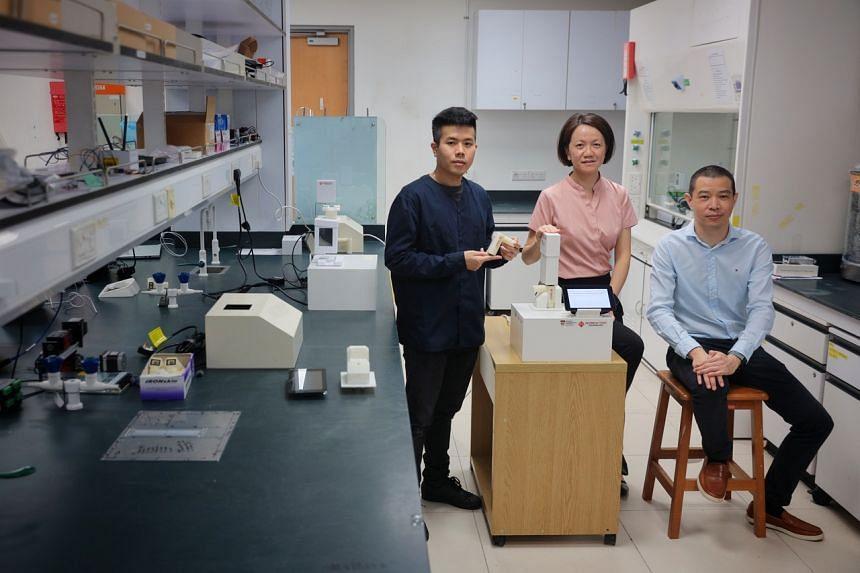 Silver Factory co-founders (from left) Phang-Quang Gia Chuong, Ling Xing Yi and Phang In Yee.
